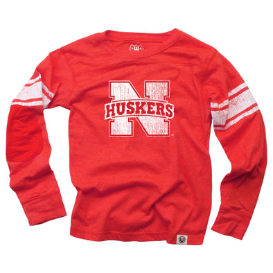 Wes & Willy Boy's Nebraska Cornhuskers Blend Jersey