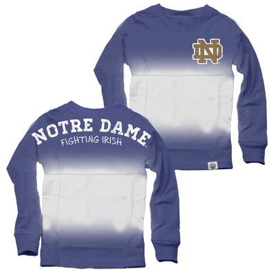 Wes & Willy Notre Dame Fighting Irish Girls Spirit Tee