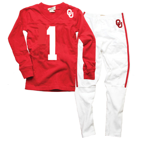 Wes & Willy Oklahoma Sooners Football Pajama