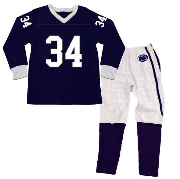 Wes & Willy Penn State Nittany Lions Football Pajama
