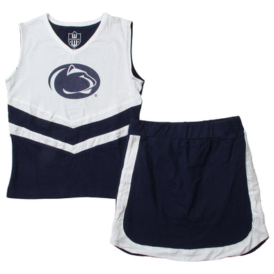 Wes & Willy Penn State Nittany Lions Girl's Cheer Set