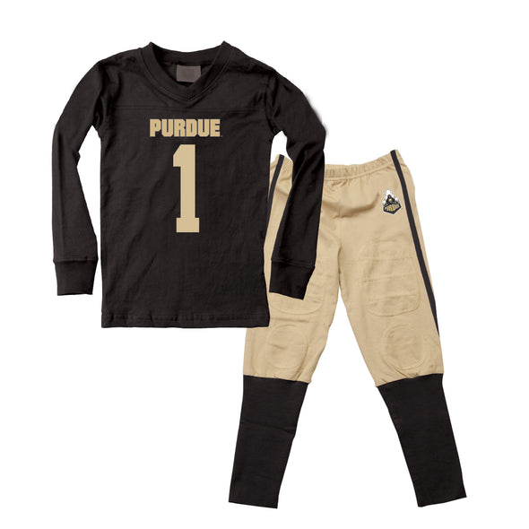 Wes & Willy Purdue Boilermakers Football Pajamas