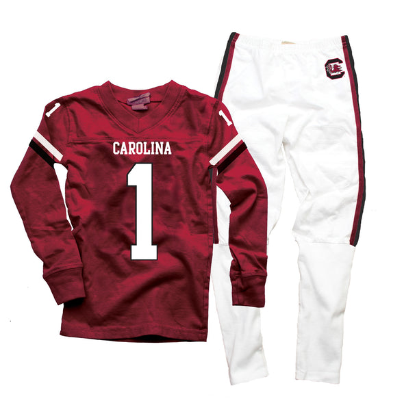 Wes & Willy South Carolina Gamecocks Football Pajamas