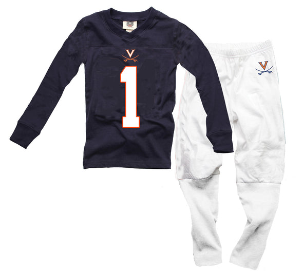 Wes & Willy Virginia Cavaliers Football Pajamas