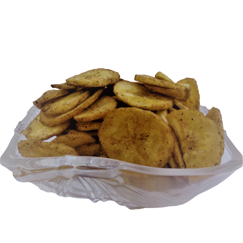 Banana Chips - Desi style Homemade with Pepper