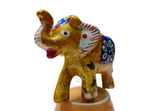 Handmade Wooden Elephants - Set of 9 Rajasthani Handmade Sculptures