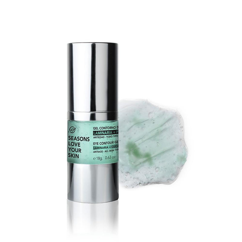 Gel Contorno de Ojos Pepino + Laminaria - Seasons Love Your Skin - SEO Optimizer