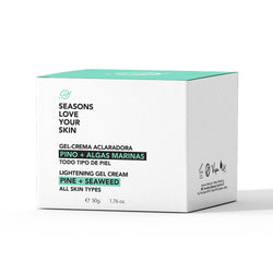 Gel Crema Aclaradora Pino + Algas Marinas - Seasons Love Your Skin - SEO Optimizer