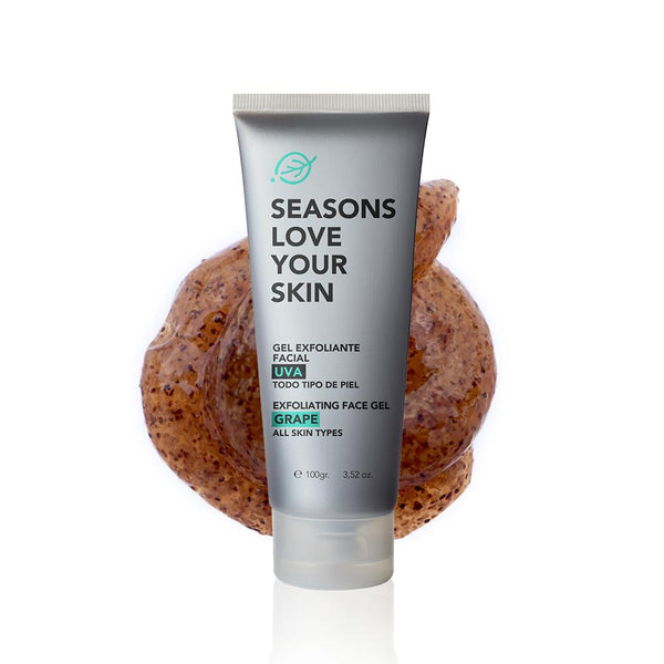 Gel Exfoliante Facial Uva - Seasons Love Your Skin - SEO Optimizer