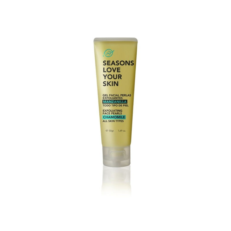 Gel Facial Perlas Exfoliantes Manzanilla - Seasons Love Your Skin - SEO Optimizer