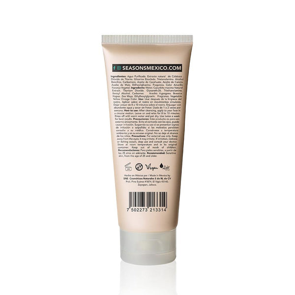Mascarilla Facial Calabaza - Seasons Love Your Skin - SEO Optimizer