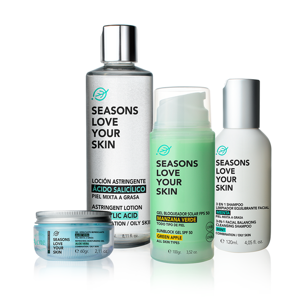 Seasons Acné Treatments Package 4 piezas - Seasons Love Your Skin - SEO Optimizer