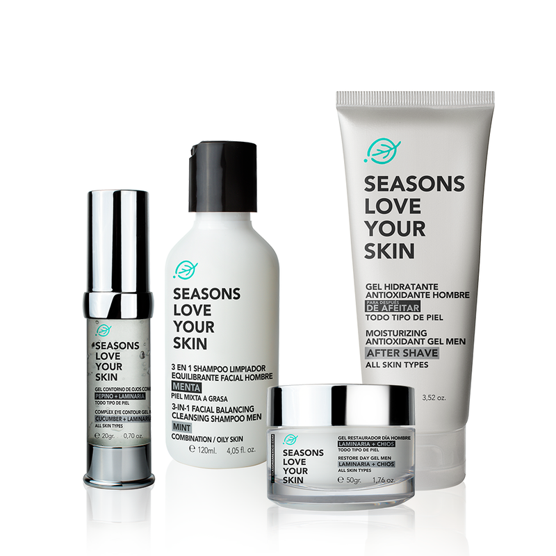 Seasons Men Basic Face Care 4 Pack - Seasons Love Your Skin - SEO Optimizer