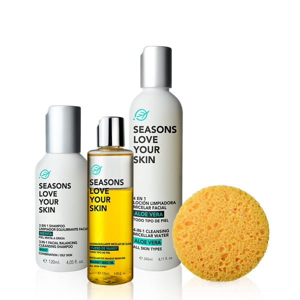 Seasons Facial Cleansing 4 Pack - Seasons Love Your Skin - SEO Optimizer