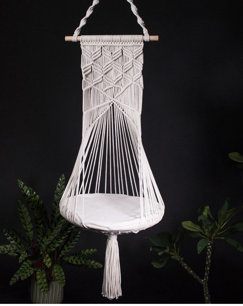 Macrame Wall Hanging Cat's Nest