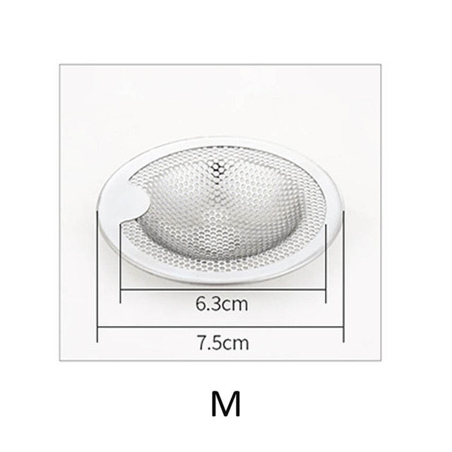 Stainless Steel Basin Drainage Hole Filter Mesh