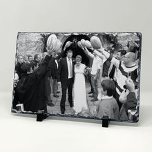 Load image into Gallery viewer, Slate photo display - 20cm x 30cm Gloss finish