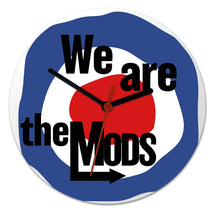 Load image into Gallery viewer, Clock - We are the MODs abstract