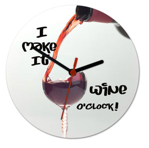 It's Wine O'clock! clock