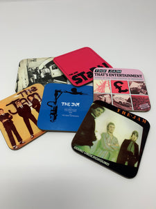 The Jam singles coaster set