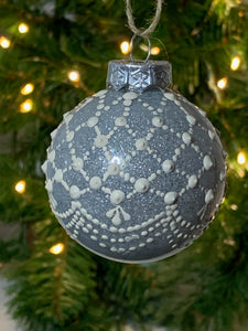 Christmas Tree Baubles - Hand decorated