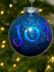 Christmas Tree Baubles - WITHOUT personalisation