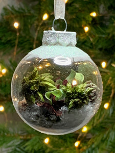 Christmas Tree Baubles - Nature effect