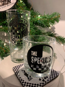 2 Tone themed drinking glasses
