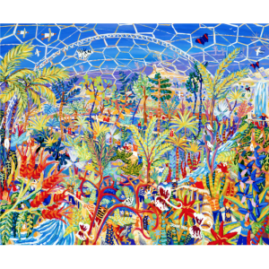 The Eden Project purchase a major John Dyer Original Painting for their permanent collection of Art.