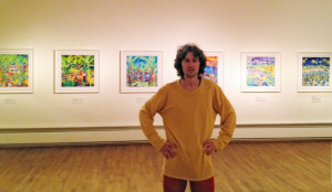 John Dyer Global Art Paintings exhibited at Falmouth Art Gallery