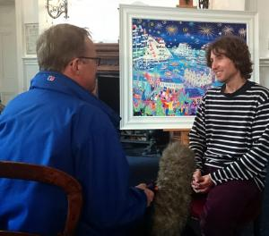 BBC Spotlight & Radio Cornwall Interview John Dyer about the Tall Ships Regatta 2014