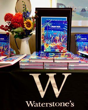 John Dyer Book launch at Waterstones, Truro