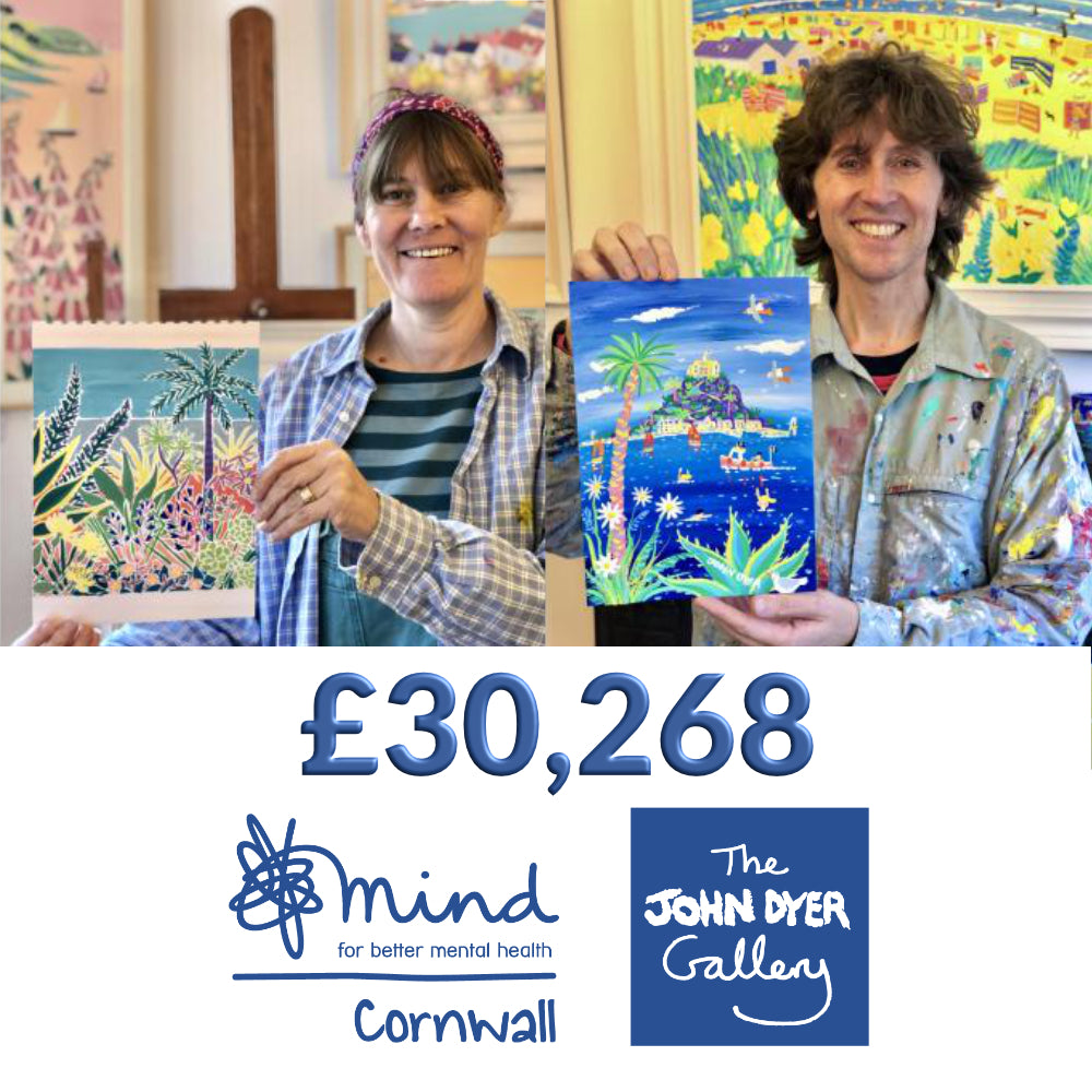 Our £30,000 Art auction to support Cornwall Mind