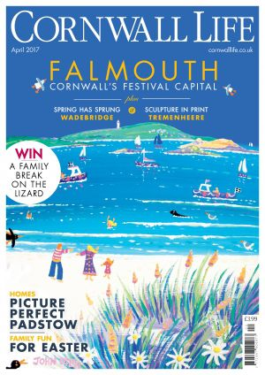 Cornwall Life feature John Dyer and Joanne Short paintings on the cover !