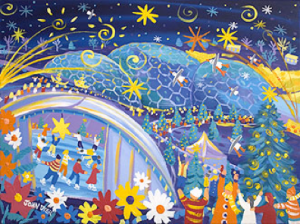 Eden Project Commission 'Time of Gifts' Festival Painting