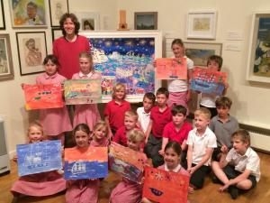 Hundreds of pupils inspired by John Dyer Tall Ships art workshops