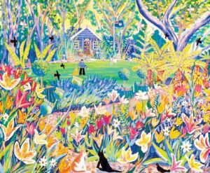Alan Titchmarsh's Last Summer at Barleywood Painted by John Dyer