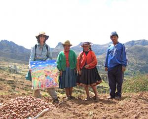 John Dyer - United Nations Year of the Potato. Peru.