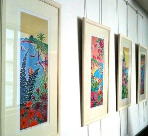 Royal Cornwall Hospital select John Dyer and Joanne Short art for their permanent collection
