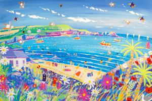 John Dyer commissioned to paint Mother Ivey's Bay Holiday Park
