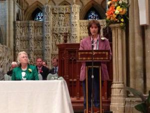 John Dyer-Guest of Honour and Inspirational Speaker at Truro Cathedral