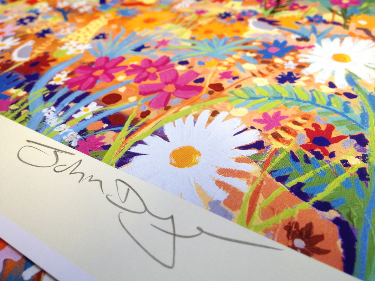 Glowing with Life, The Eden Project. Official Signed Print by John Dyer