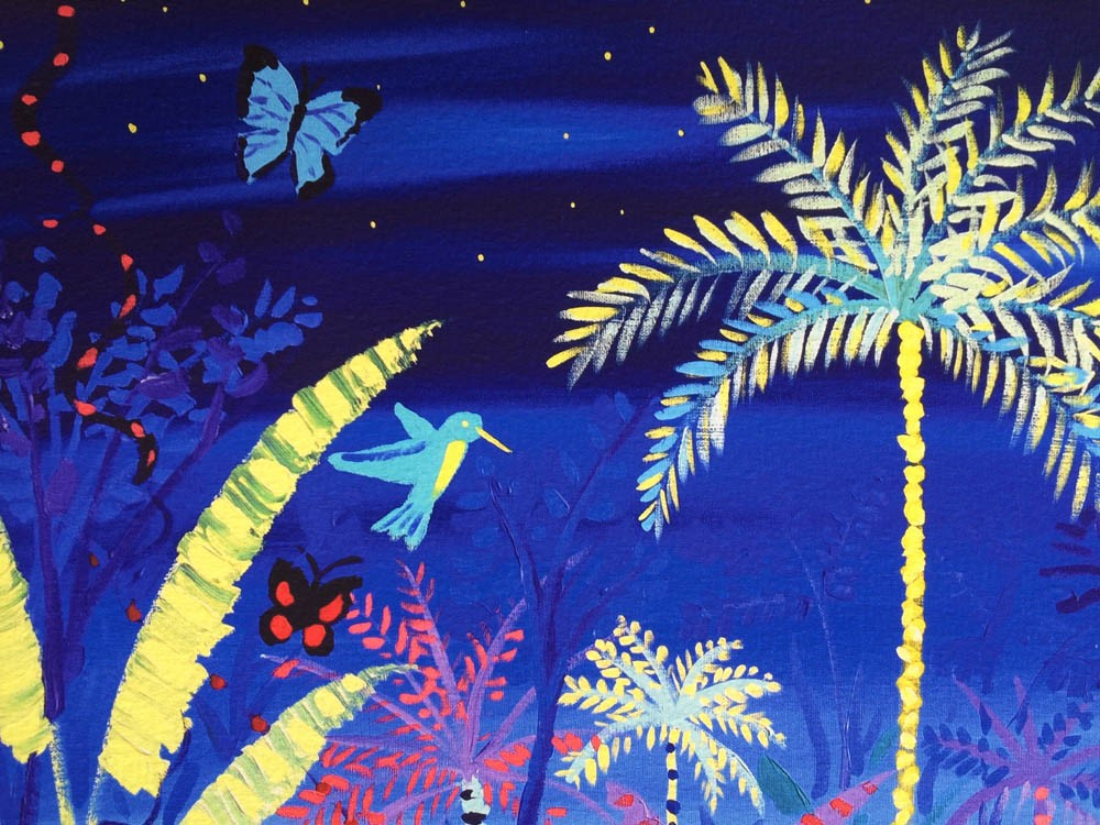 Limited Edition Print by John Dyer. Rare - Spiritual Rebirth. Amazon Rainforest Vana Spirit.