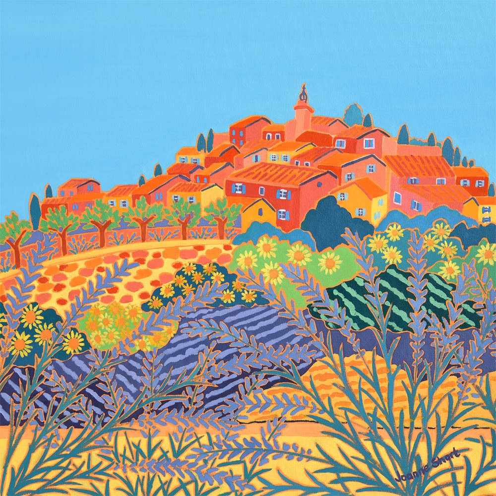 Limited Edition Print by Joanne Short. Summer Sunshine, Roussillon, Provence