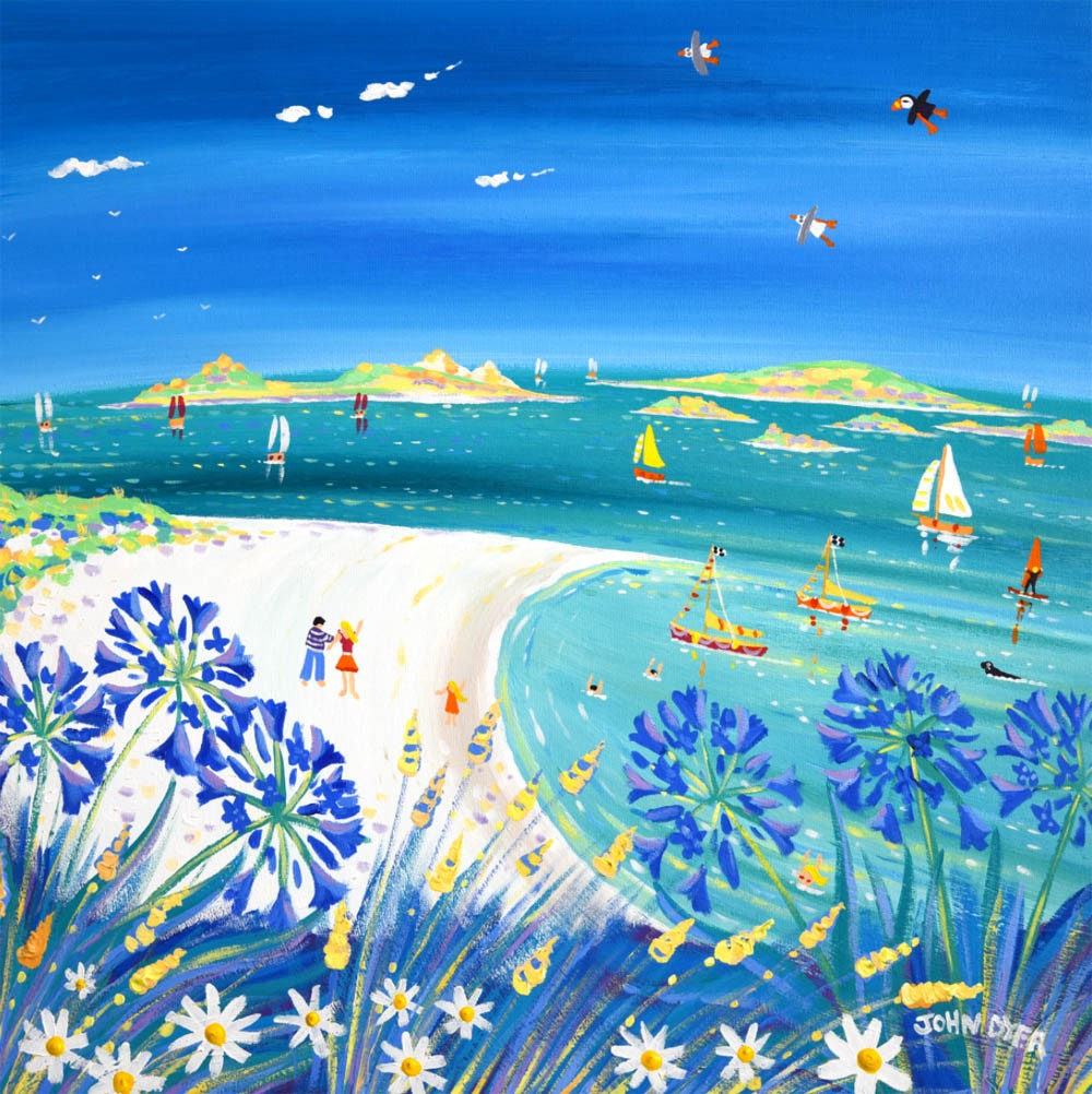 Limited Edition Print by John Dyer. Island Life, Tresco