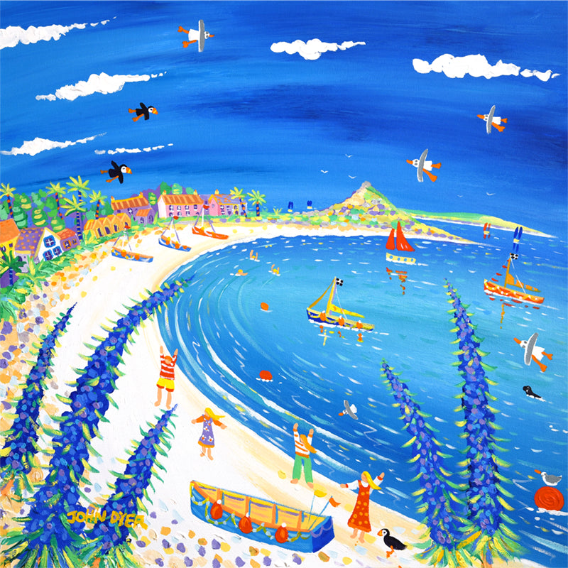 Limited Edition Print by John Dyer. Holiday Fun, Old Grimsby, Tresco