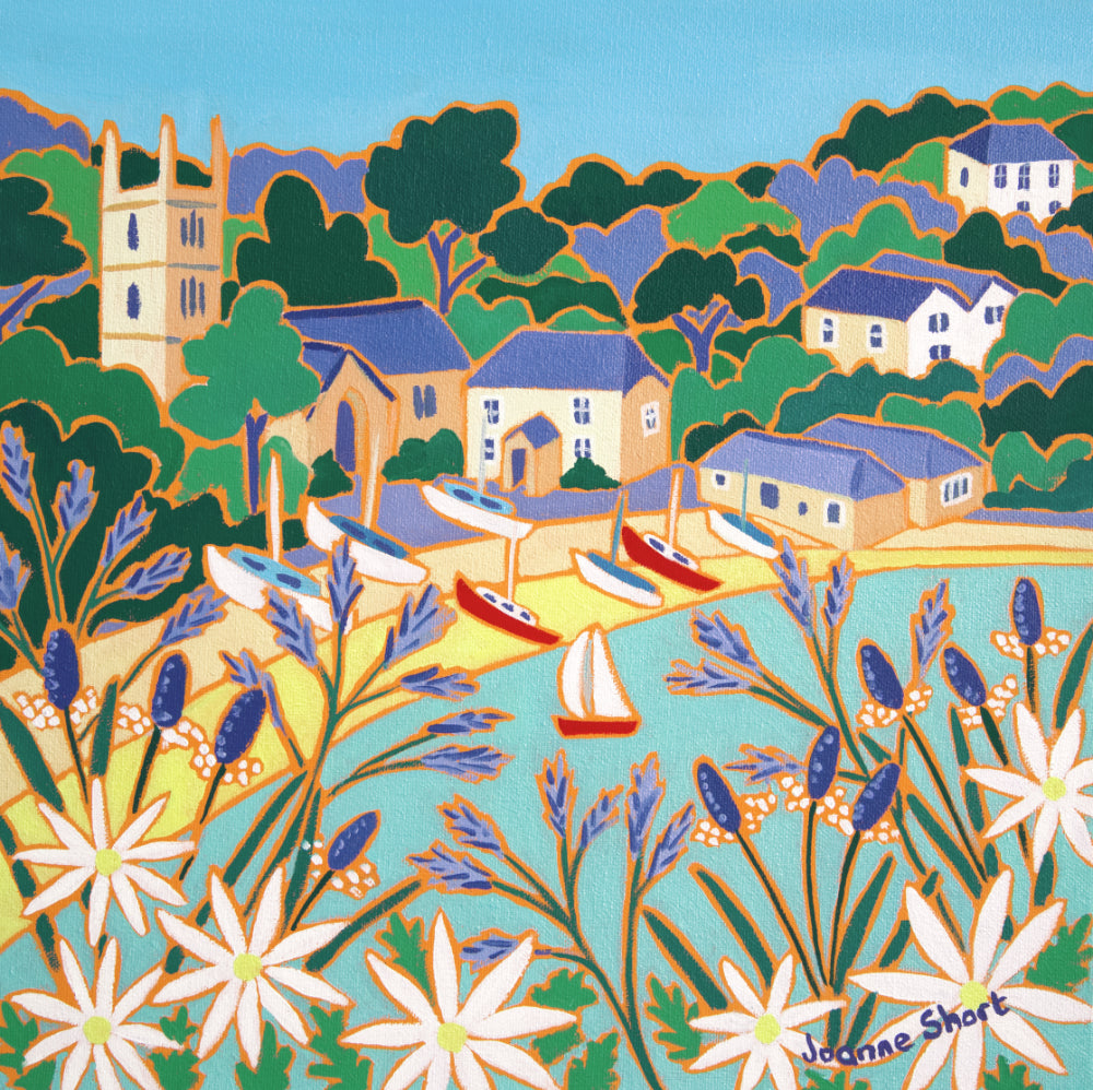 High Tide, St Anthony-in-Meneage. Limited Edition Print by Joanne Short.