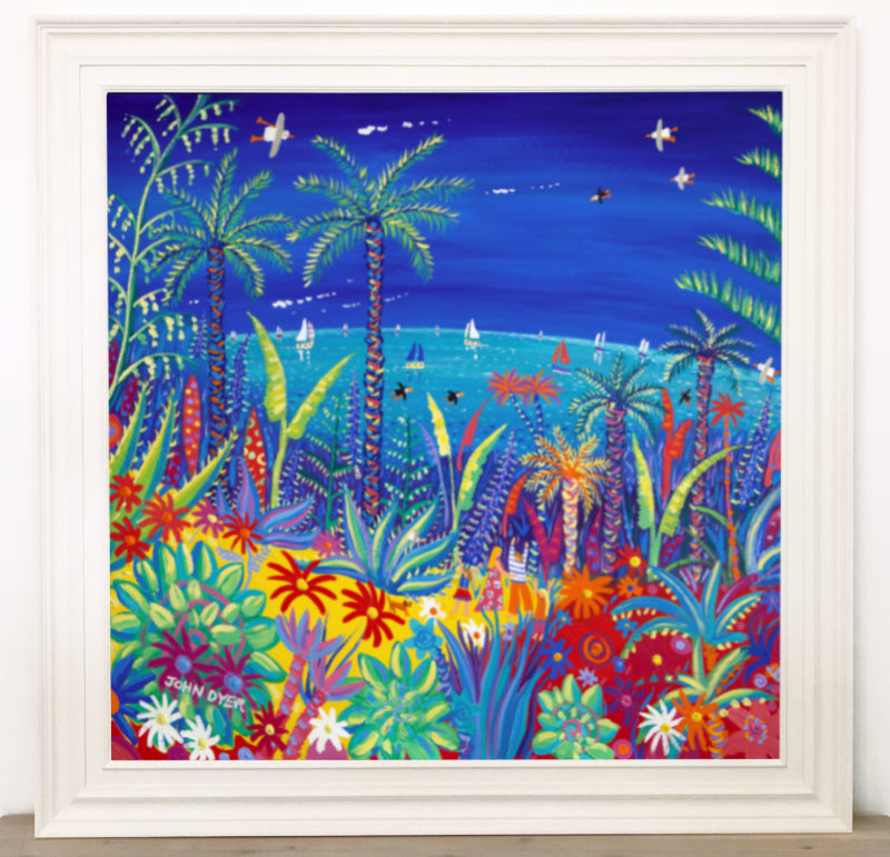 Original Painting by John Dyer. Painting the Colours of the World, Tresco