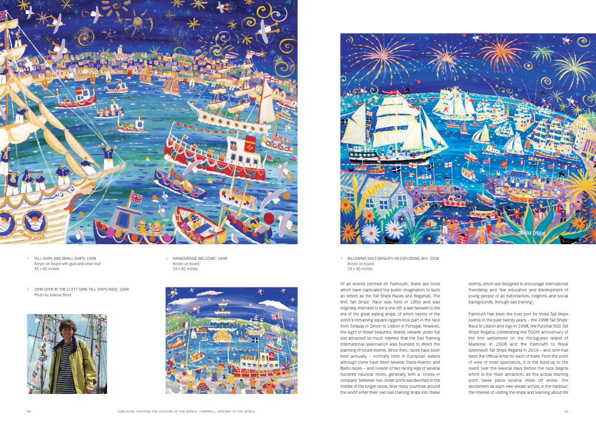 John Dyer Book. Painting the Colours of the World. Foreword by Alan Titchmarsh