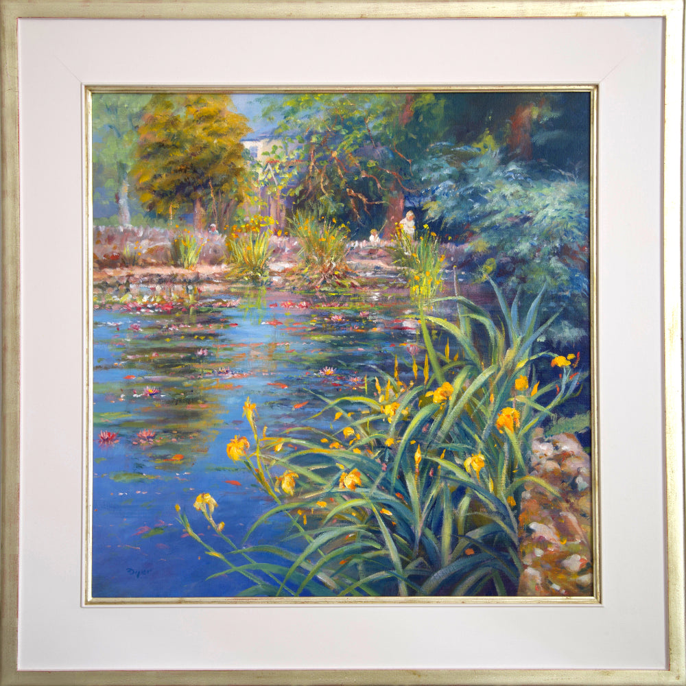 Ted Dyer Oil Painting. Early Summer Colours, Kimberley Park